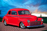 Street Rod Art - 1947 Ford Coupe by Dave Koontz