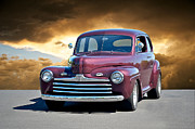 Street Rod Art - 1947 Ford Sedan by Dave Koontz