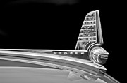 1947 Photos - 1947 Kaiser-Frazer Hood Ornament by Jill Reger