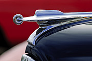 Collector Hood Ornament Metal Prints - 1947 Packard Hood Ornament Metal Print by Jill Reger