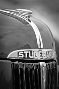Featured Art - 1947 Studebaker M5 Pickup Truck Grill Emblem - Hood Ornament by Jill Reger