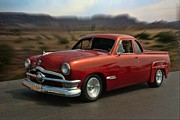 Australian Ford Prints - 1950 Australian Ford Ute  Print by Tim McCullough