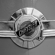 Windsor Framed Prints - 1950 Chrysler Windsor Emblem Framed Print by Jill Reger