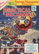 Mechanics Prints - 1950s Uk Practical Mechanics Magazine Print by The Advertising Archives