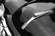 Collector Hood Ornament Metal Prints - 1951 Fiat Hood Ornament - Emblem Metal Print by Jill Reger