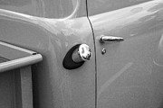 Old Trucks Photos - 1951 Ford F1 Pickup Truck BW by Rich Franco