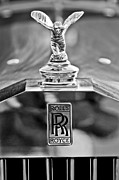 Collector Hood Ornament Posters - 1952 Rolls-Royce Hood Ornament Poster by Jill Reger