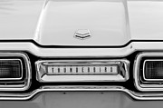 Thunderbird Photos - 1954 Ford Thunderbird Taillight Emblem by Jill Reger