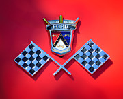 1955 Ford Thunderbird Emblem Print by Jill Reger