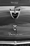 Fairlane Photos - 1956 Ford Fairlane Hood Ornament by Jill Reger
