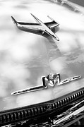 Monterey Framed Prints - 1956 Mercury Monterey Hood Ornament - Emblem Framed Print by Jill Reger