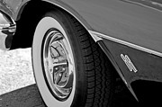Oldsmobile Photos - 1956 Oldsmobile Holiday 88 Wheel by Jill Reger