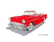 Major Originals - 1957 Buick Special Convertible by Jack Pumphrey