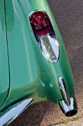 Tail Photos - 1957 Chevrolet Corvette Taillight by Jill Reger