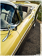 Fairlane Photos - 1957 Ford Fairlane 500 Skyliner Retractable Hardtop Convertible by Edward Fielding