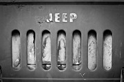 Jeep Framed Prints - 1957 Jeep Emblem Framed Print by Jill Reger