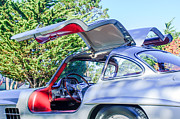 57 Photos - 1957 Mercedes-Benz Gullwing  by Jill Reger