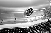 Featured Art - 1958 Buick Roadmaster 75 Convertible Grille Emblem by Jill Reger