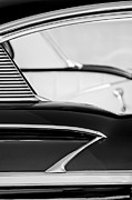 B Photos - 1958 Chevrolet Belair Abstract by Jill Reger