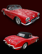 C1 Photos - 1958 Corvette by Bill Dutting