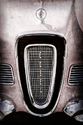 Collector Hood Ornament Metal Prints - 1958 Edsel Pacer Grille Emblem - Hood Ornament Metal Print by Jill Reger