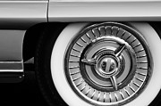 Oldsmobile Photos - 1958 Oldsmobile 98 Wheel by Jill Reger
