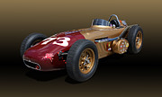 Indy Car Prints - 1958 Watson McNamara SPL INDY Roadster Print by Tad Gage