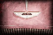 Featured Art - 1959 Aston Martin DB MK IIIB Drophead Coupe Emblem by Jill Reger
