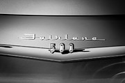 500 Prints - 1959 Ford Fairlane 500 Emblem Print by Jill Reger