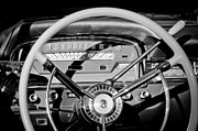 Wheel Posters - 1959 Ford Fairlane Steering Wheel Poster by Jill Reger