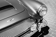 1960 Photo Metal Prints - 1960 Aston Martin DB4 Series II Grille Metal Print by Jill Reger