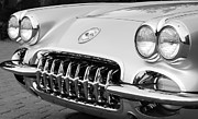 1960 Photos - 1960 Chevrolet Corvette Grille by Jill Reger