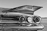 1960 Posters - 1960 Chevrolet Impala Resto Rod Taillight Poster by Jill Reger