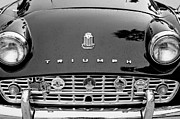 1960 Framed Prints - 1960 Triumph TR 3 Grille Emblems Framed Print by Jill Reger