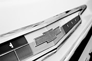 1962 Photos - 1962 Chevrolet Belair Emblem by Jill Reger