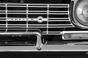 1962 Photos - 1962 Chevrolet Nova Grille Emblem by Jill Reger