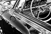 Wheel Posters - 1962 Dodge Polara 500 Side Emblem - Steering Wheel Poster by Jill Reger
