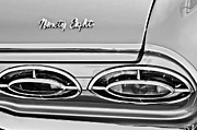 1962 Photos - 1962 Oldsmobile 98 Taillights by Jill Reger