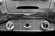 Series Photos - 1963 Aston Martin DB4 Series V Vantage GT Grille by Jill Reger