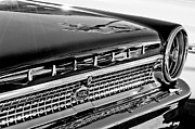 1963 Ford Prints - 1963 Ford Galaxie 500XL Taillight Emblem Print by Jill Reger