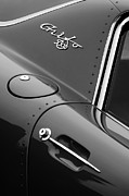 Beach Photographs Prints - 1964 Iso Grifo 5300 A3C Drogo Coupe Emblem Print by Jill Reger