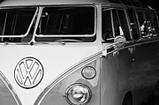 Bus Photos - 1964 Volkswagen VW Samba 21 Window Bus by Jill Reger
