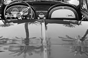 Black And White Photos Photos - 1965 Chevrolet Corvette Sting Ray by Jill Reger