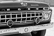 Truck Photos - 1965 Ford American LaFrance Fire Truck by Jill Reger