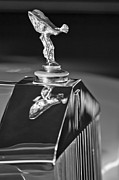 Collector Hood Ornament Posters - 1965 Rolls-Royce Silver Cloud III Continental Coupe Hood Ornament Poster by Jill Reger