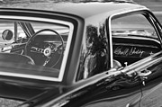 Black And White Photos Photos - 1965 Shelby prototype Ford Mustang by Jill Reger