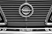 Cuda Framed Prints - 1966 Plymouth Barracuda - Cuda Grille Emblem Framed Print by Jill Reger