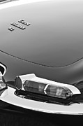 E Black Photo Prints - 1967 Jaguar E-Type 4.2 Liter Series 1 Roadster Taillight Print by Jill Reger