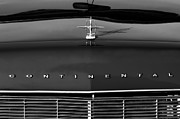 Lincoln Photos - 1967 Lincoln Continental Hood Ornament Grille Emblem by Jill Reger