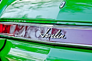 1969 Photos - 1969 AMC Javelin SST Taillight Emblem by Jill Reger